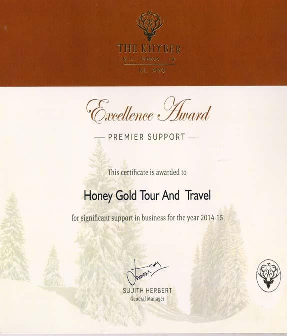 Honey Gold India Tour Travels